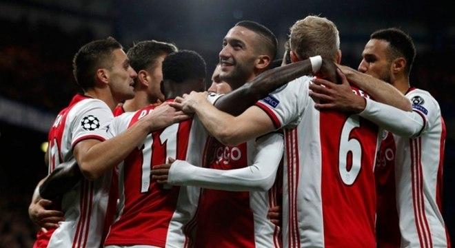 Líder Ajax terá sua vaga garantida diretamente na próxima Liga dos Campeões