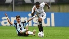 Santos joga bem e empata com o Grêmio em Porto Alegre