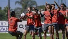 Flamengo encerra preparação para enfrentar o São Paulo
