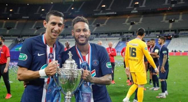Di María afirmou estar no mesmo nível de Neymar e Mbappé