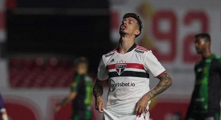 Ataque do São Paulo não funciona