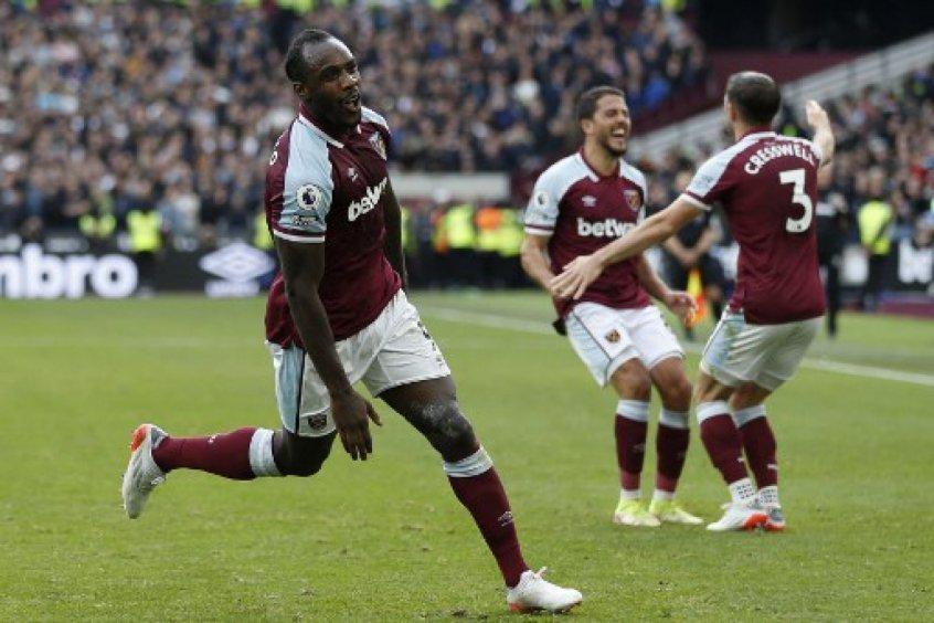 Em jogo truncado, Antonio decide e West Ham vence o Tottenham