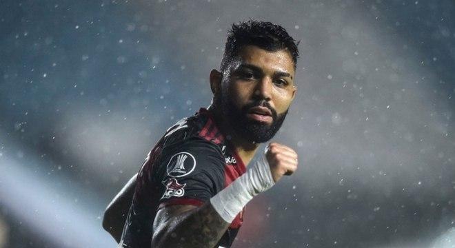 Gabigol garantiu o empate do Flamengo com o Racing na Libertadores