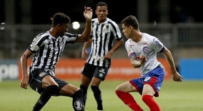 Santos atuou sem seus principais jogadores na despedida do Brasileirão