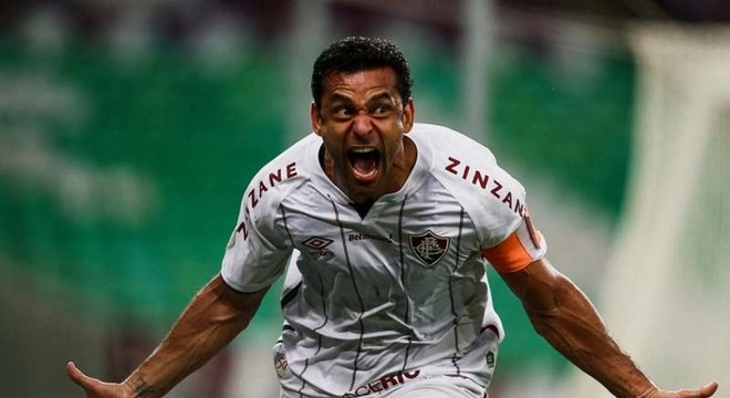 Fred marcou o gol que abriu caminho para a vitória do Fluminense
