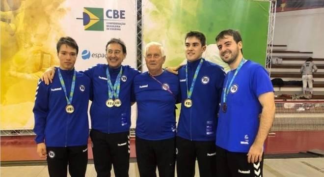 Gennady Miakotnykh era técnico da seleção brasileira e do clube Pinheiros
