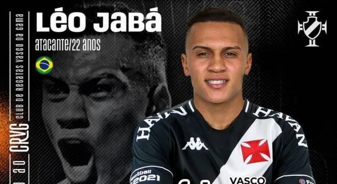 Léo Jabá tentará ajudar o Vasco a voltar à primeira divisão