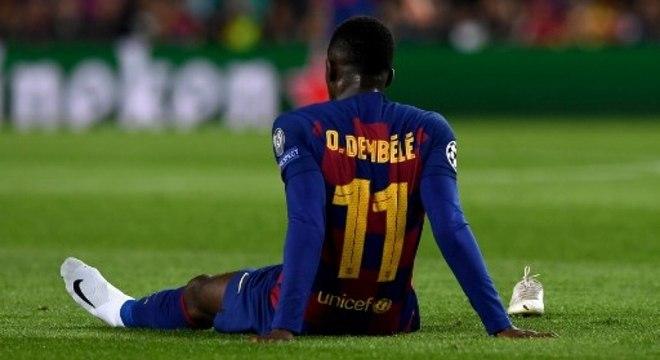 Técnico Tuchel gosta do futebol de Dembélé
