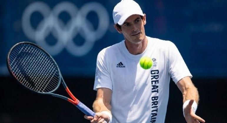 Andy Murray só vai disputar o torneio de duplas em Tóquio