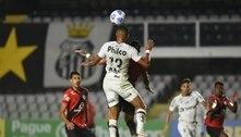 Santos pressiona até o fim, mas perde em casa para o Atlético-GO