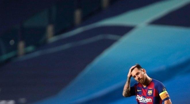 Argentino Lionel Messi, hoje com 33 anos, chegou ainda criança no Barcelona