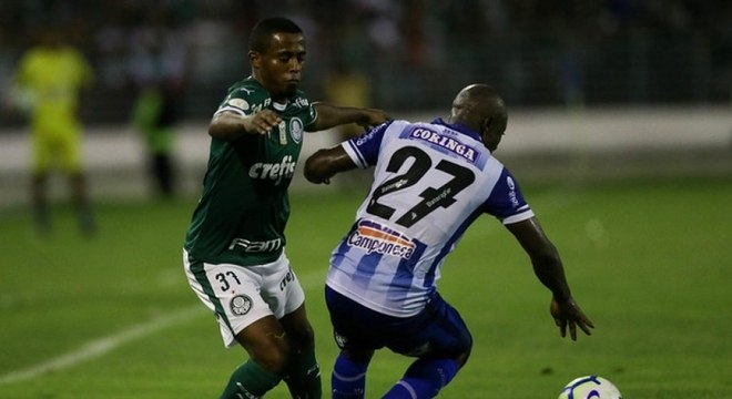 Com reservas como Carlos Eduardo, Palmeiras ficou no empate com CSA, em Maio