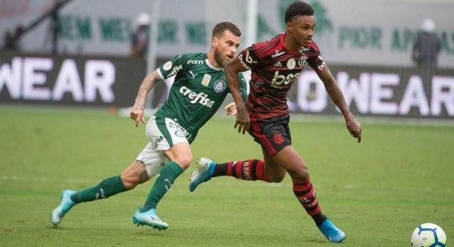 Jogo entre Palmeiras e Flamengo está confirmado para domingo