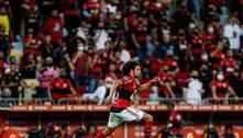 Willian Arão mostra segurança na defesa e precisão de passe no Fla