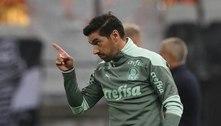 Abel vê protagonismo do Palmeiras, mas alerta que o 'futebol penaliza'