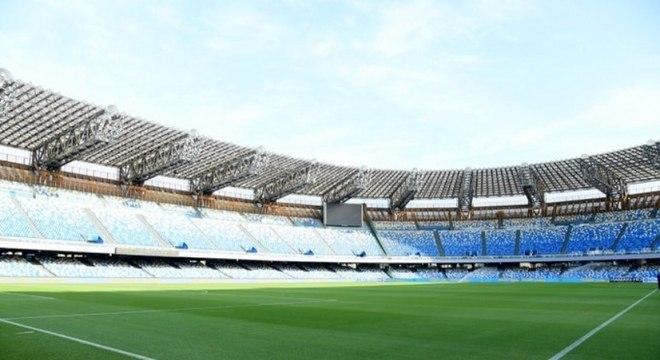 Estádio San Paolo é um dos mais tradicionais do futebol italiano