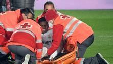 Rodrygo sofre lesão na coxa e deve desfalcar Real por até três meses