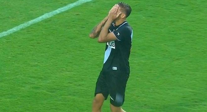 Norões, do Vasco, falhou na final da Copa São Paulo de Juniores