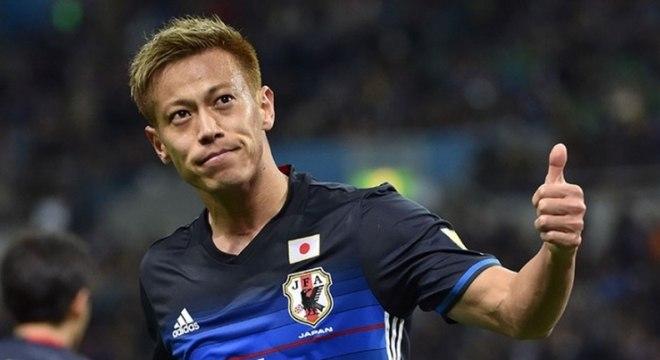 Honda, da seleção japonesa, pode ser a grande contratação do Botafogo na temporada