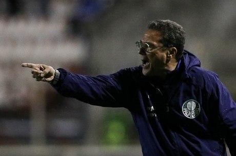 Luxemburgo aprovou desempenho do Palmeiras
