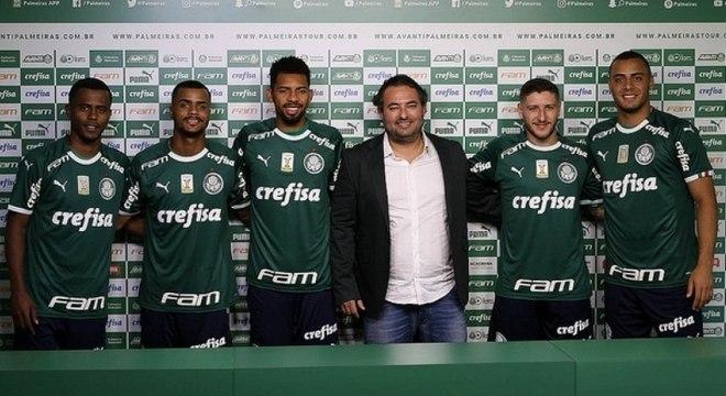 Todos os reforços do Palmeiras estão inscritos na Libertadores