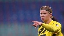 Dortmund define preço de saída de Haaland na próxima janela