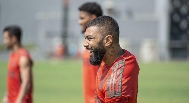 De volta! Gabigol reintegra elenco do Flamengo e estará disponível contra o Boavista