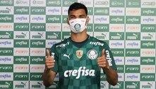 Danilo Barbosa é apresentado no Palmeiras: 'Alegria em estar no Maior Campeão Nacional'