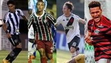 Jovens se firmam e se tornam estrelas dos grandes clubes do Rio