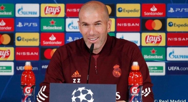Zidane prevê muita dificuldade nas semifinais da Champions League
