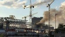 Incêndio atinge o Santiago Bernabéu, estádio do Real Madrid