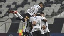 Corinthians goleia o River Plate-PAR na despedida da Sul-Americana