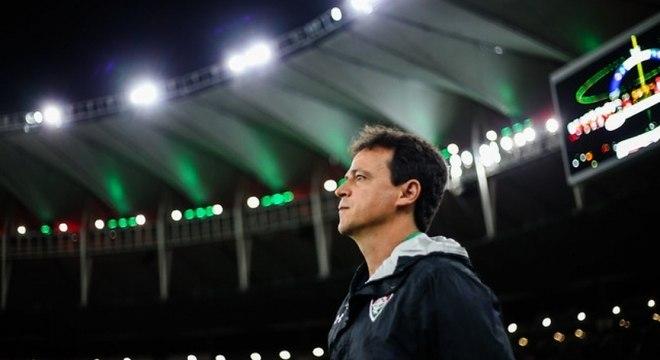 Fernando Diniz, de 45 anos, fez seu último trabalho no Fluminense