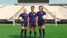 Corinthians lança terceira camisa, roxa, em homenagem às mulheres