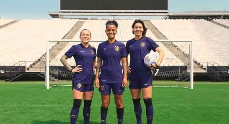 Novo uniforme será estreado pelo time feminino do Corinthians na final do Campeonato Brasileiro