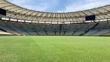 Conmebol faz disputa de hashtags para colorir Maracanã na decisão