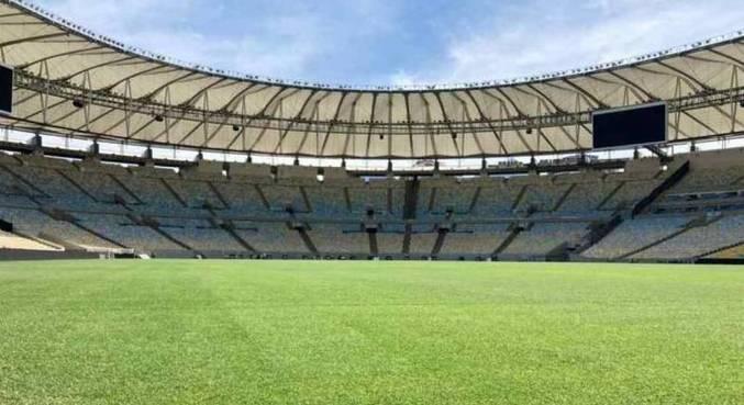 Maracanã não terá torcida, mas ficará com cores de Palmeiras e Santos