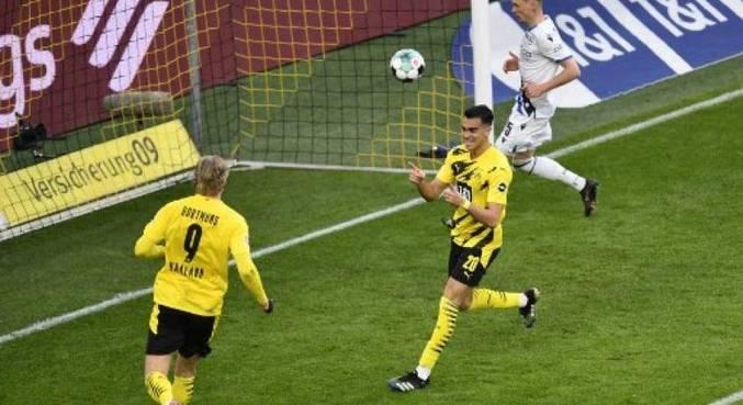 Revelação do Fla, Reinier fez o 1º gol com a camisa do time alemão