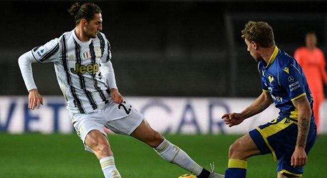 Juventus apenas empata com o Hellas Verona pelo Campeonato Italiano