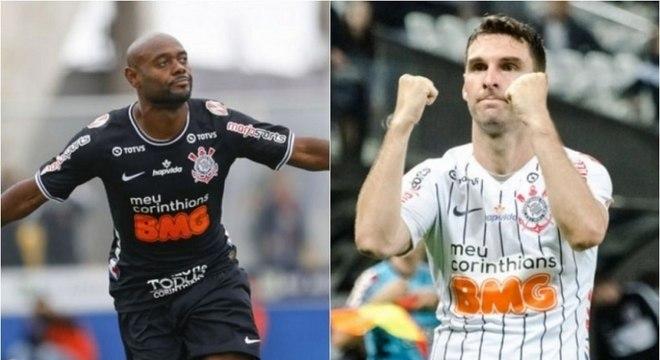 Love e Boselli têm contrato com o Corinthians até o fim deste ano
