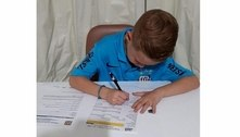 Novo raio? Santos contrata garoto prodígio de 7 anos para o futsal