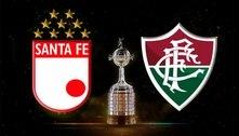Fluminense encara o Santa Fé nesta quarta-feira pela Libertadores