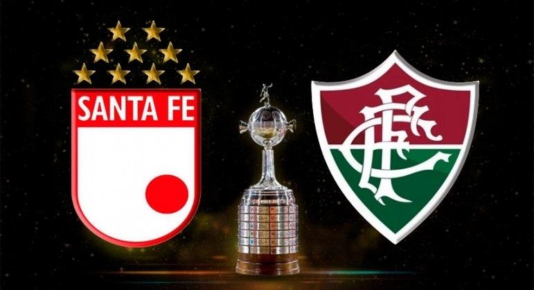 Fluminense vai a Colômbia para enfrentar o Santa Fe nesta quarta-feira