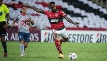 Gerson celebra 100ª partida pelo Flamengo e sonha em reconquistar a Libertadores: 'Repetir aquela festa'