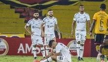 Santos cai na fase de grupos da Libertadores após 37 anos