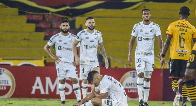 Santos não saía na fase de grupos da Libertadores desde 1984