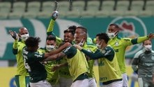 Palmeiras vira nos acréscimos e vence o Bahia pelo Brasileirão