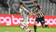 Santos vence o Atlético-MG na Vila e entra no G6 do Brasileirão