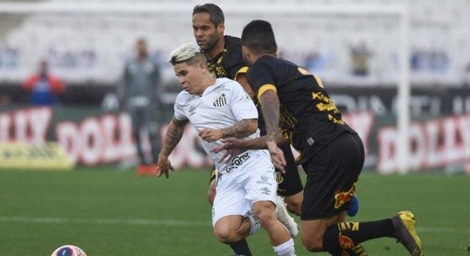 Soteldo segue como trunfo para o Santos no Campeonato Paulista