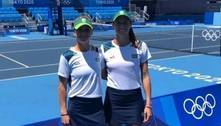 Stefani e Pigossi resistem a pressão e vão às quartas nas duplas do tênis